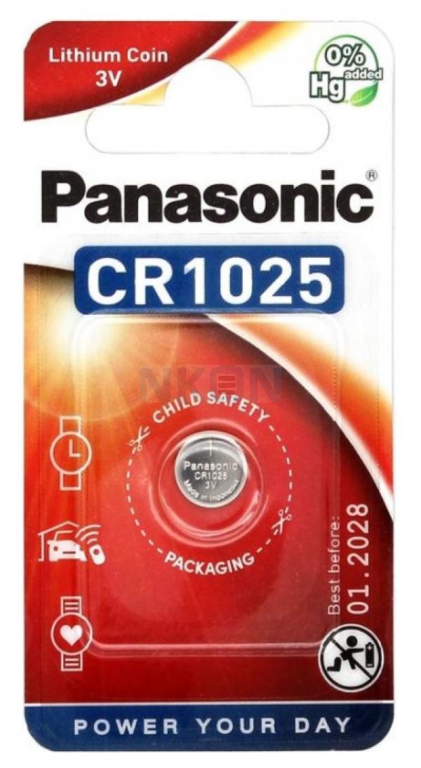 Panasonic CR1025 - 3V