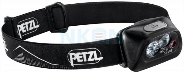 Petzl Actik Core Black Head Lamp - 450 Lumen