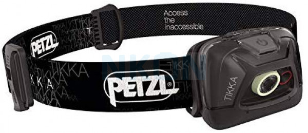 Petzl Tikka Black Headlamp - 300 Lumen (2019 version)