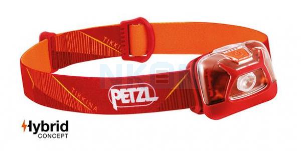 Petzl Tikkina Red Head Lamp - 250 Lumen