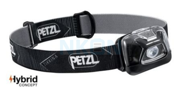 Petzl Tikkina Black Head Lamp - 250 Lumen