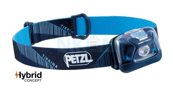 Petzl Tikkina Blue Head Lamp - 250 Lumen