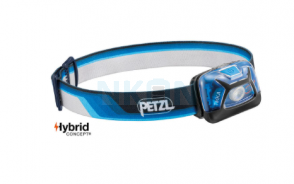 Petzl Tikka Core Blue Head Lamp - 300 Lumen (Limited edition)