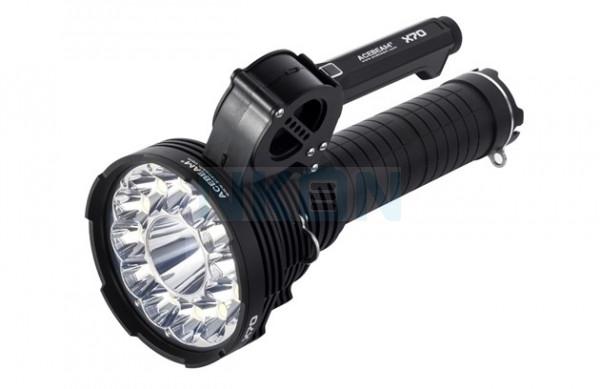 Acebeam X70 - 5000K Searchlight - 60.000 Lumen