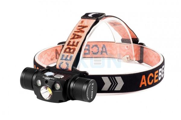 Acebeam H30 Headlamp Cool White (6500K) + Nichia UV LED