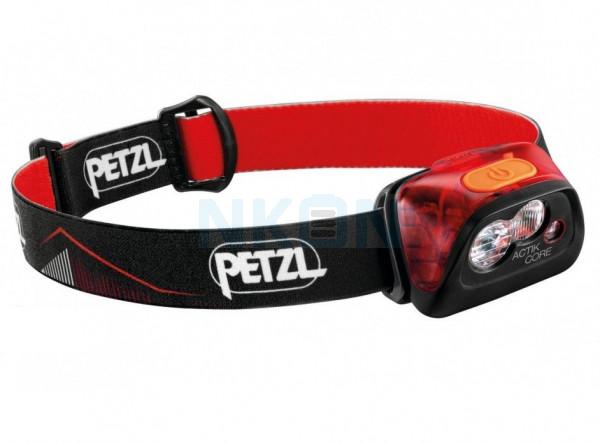 Petzl Actik Core Red Head lamp - 450 Lumen
