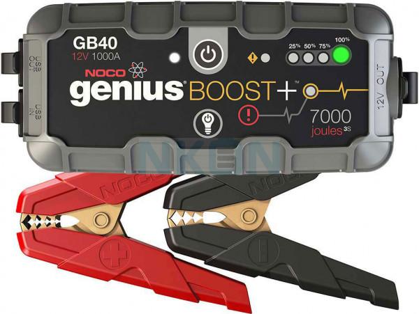 Noco Genius Boost + GB40 jumpstarter 12V - 1000A