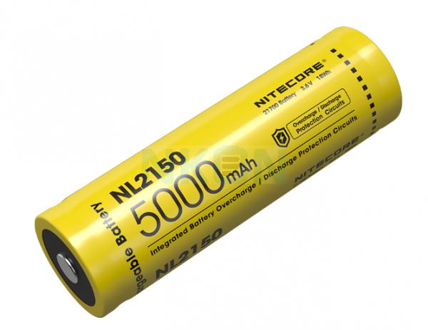 Nitecore 21700 NL2150 5000mAh - 5A