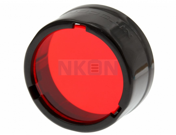 Nitecore Filter - Diffusor 25.4 mm - Red
