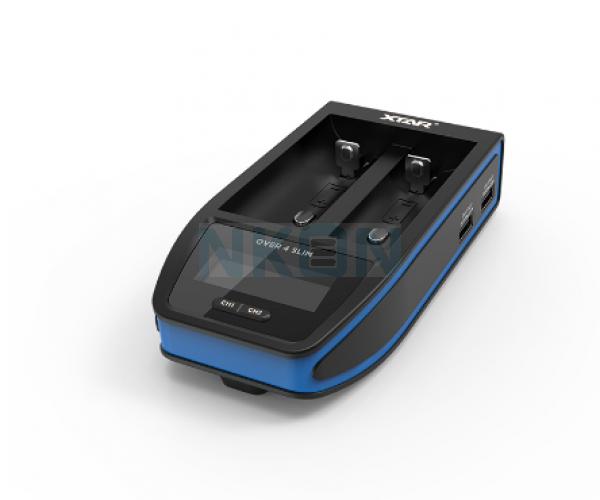 XTAR Over 4 Slim batterycharger