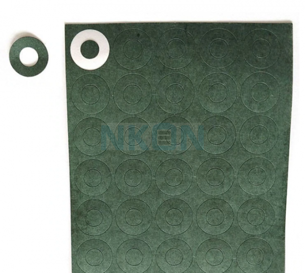 1x 20700/21700 insulation paper green
