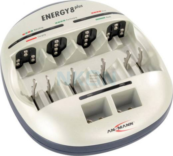 Ansmann energy 8 plus battery charger
