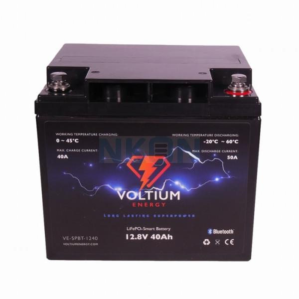 Voltium Energy 12.8V 40Ah - LiFePo4 (lead-acid battery replacement)