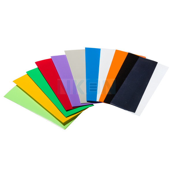 25x Colored heat shrink wrap - 18650