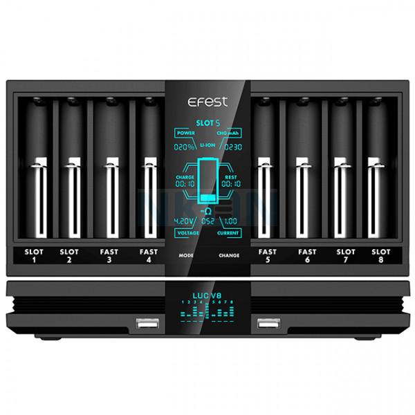 Efest LUC V8 battery charger