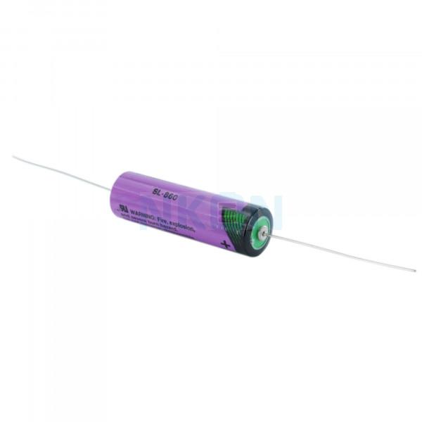 Tadiran SL-860 / AA with axial tags (CNA) - 3.6V