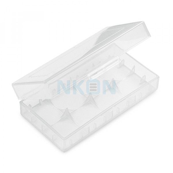 2x 18650 or 4x 18350 battery case WHITE