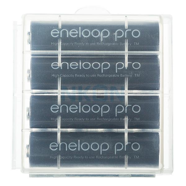 4 AA Eneloop Pro - case - 2500mAh