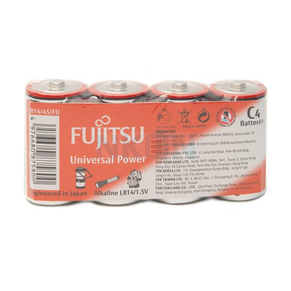 4x C Fujitsu Universal Power - 1.5V
