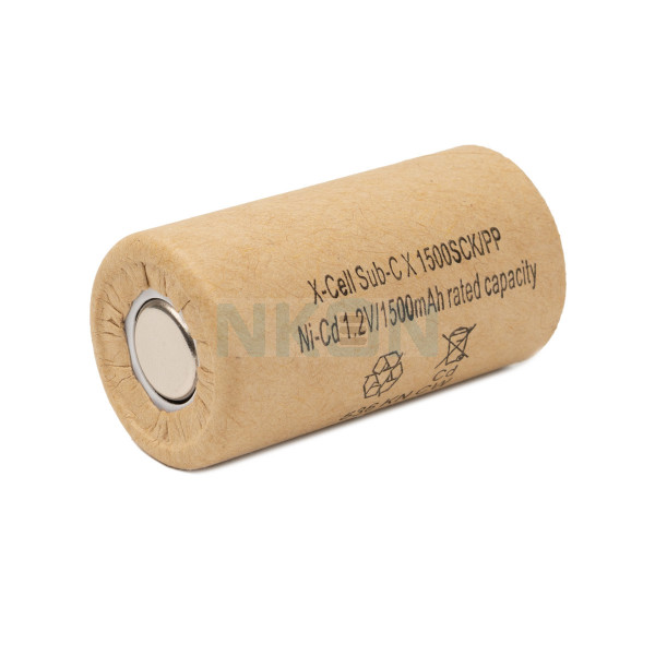 Xcell Sub-C Ni-CD - 1500mAh
