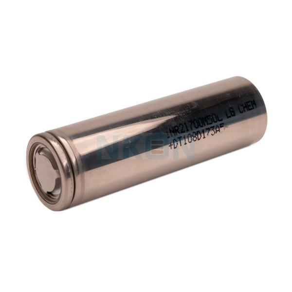 LG INR21700-M50L 4850mAh - 7.3A - NO WRAP