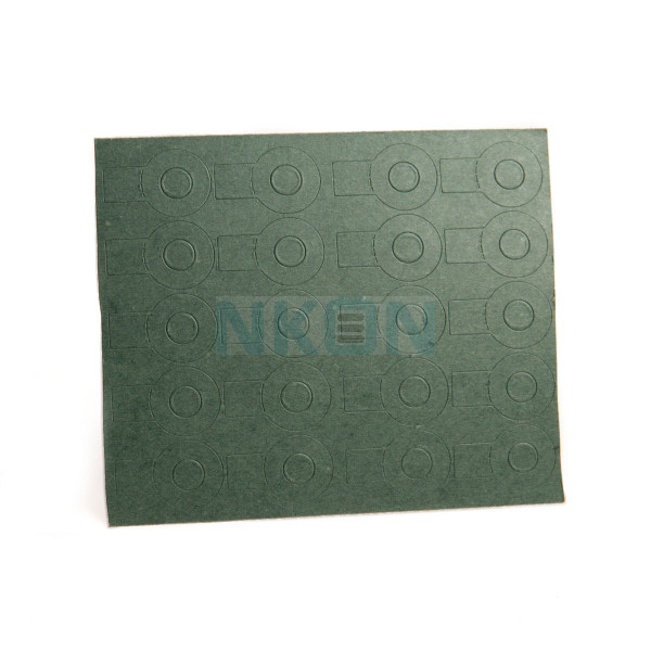 1x18650 insulation paper with tag