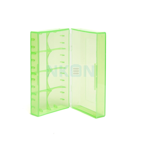 2x 18650 or 4x 18350 battery case GREEN