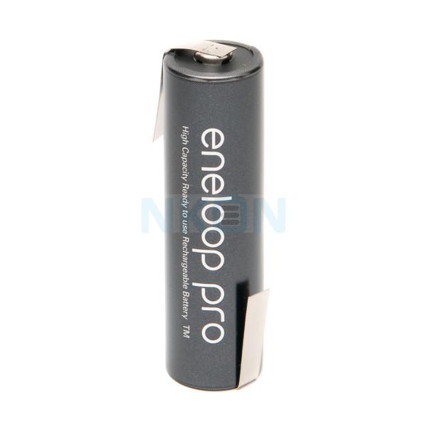 1 AA Eneloop Pro with Z-lip - 2500mAh