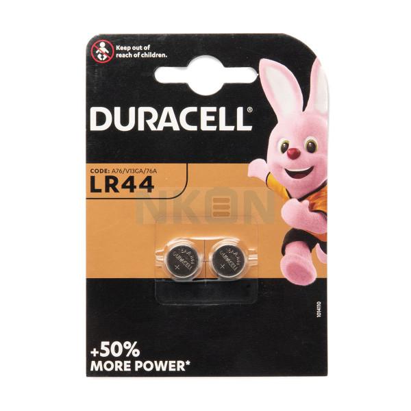 2x LR44 (A76) Duracell - 1,5V