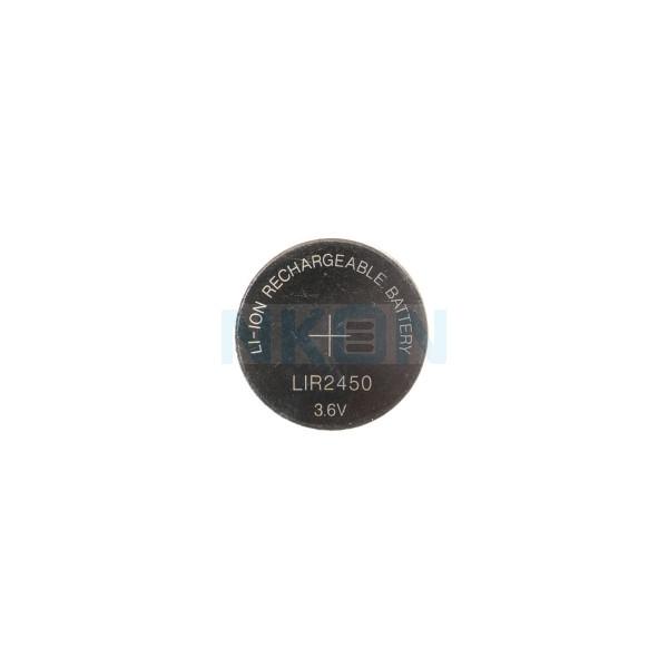 LIR2450 rechargeable li-ion button cell - 120mAh