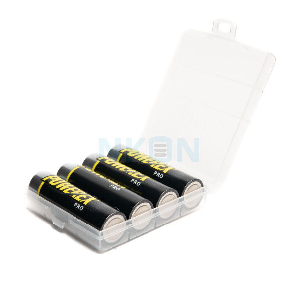 4 AA Maha Powerex Pro Precharged - box - 2700mAh