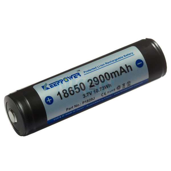 Keeppower 18650 2900mAh (protected) - 8A