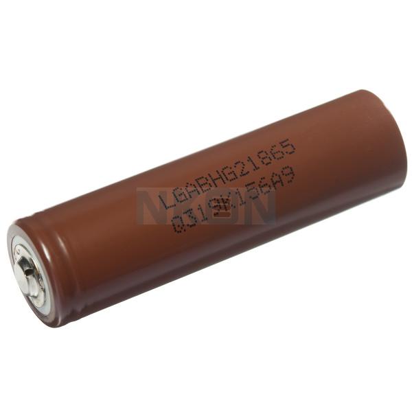 LG INR18650-HG2 3000mAh - 20A button top