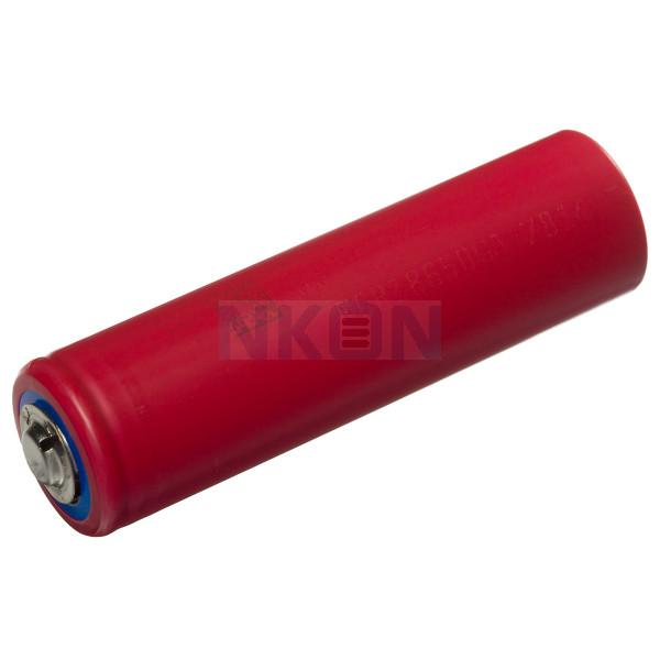 Sanyo NCR18650GA 3350mAh - 10A Button Top for a doorbell