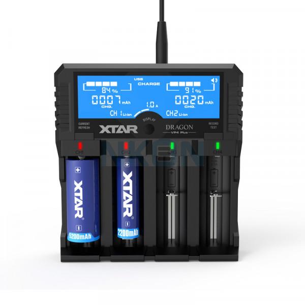 XTAR VP4 Plus Dragon Battery Charger