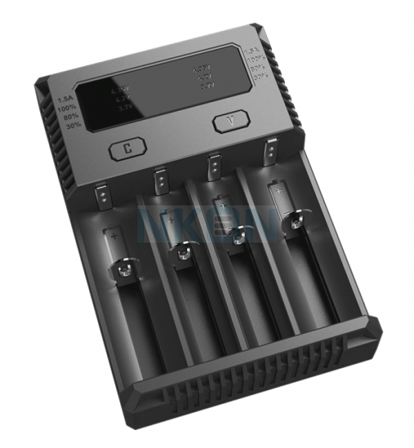 Nitecore Intellicharger i4 batterycharger