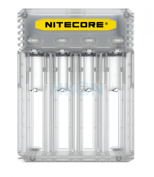 Nitecore Q4 batterycharger - Lemonade