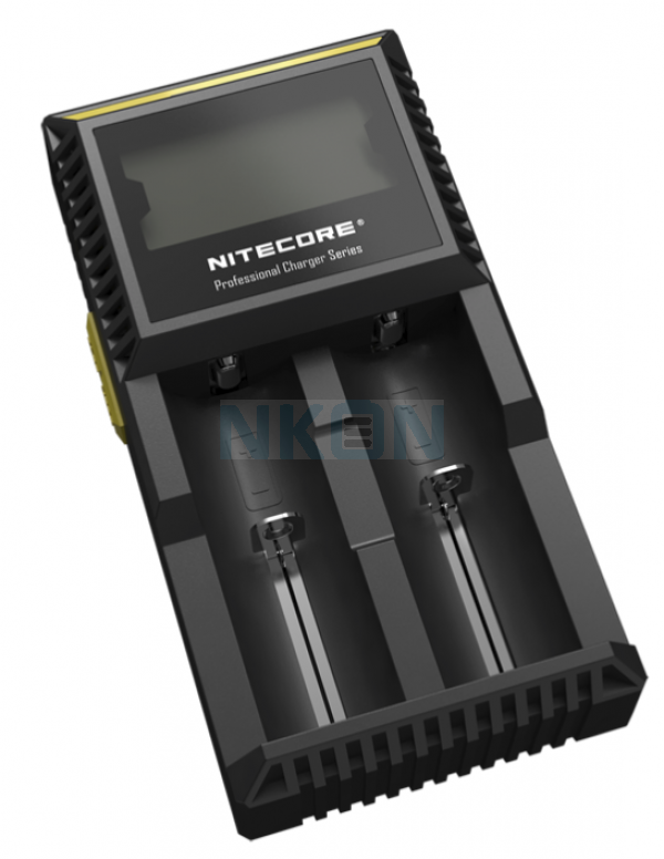 Nitecore Digicharger D2 EU batterycharger