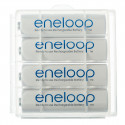 4 AA Eneloop in case - 1900mAh