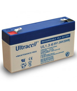 Ultracell 6V 1.3Ah Lead battery