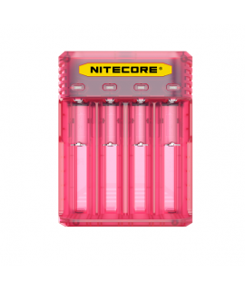 Nitecore Q4 batterycharger - Pinky Peach