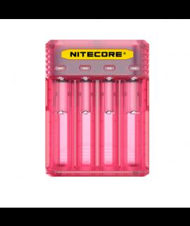 Nitecore Q4 batterycharger - Pinky Peach