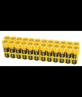 24 AA Powerpax Battery Case - Yellow