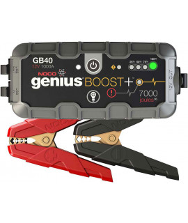 Noco Genius Boost + GB40 jumpstarter 12V - 1000A