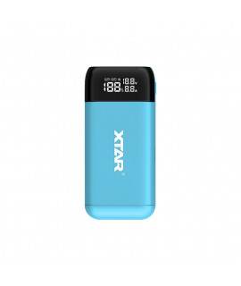 XTAR PB2S powerbank / battery charger - Blue