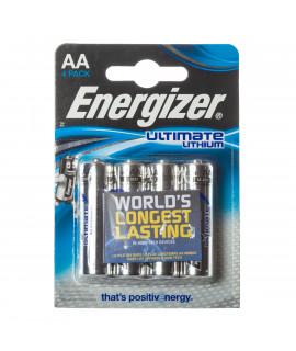 4 AA Energizer Lithium L91