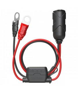 Noco Genius GC018 12 Volt plug with eye clamps