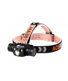 Acebeam H30 Headlamp Cool White (6500K) + Nichia UV LED