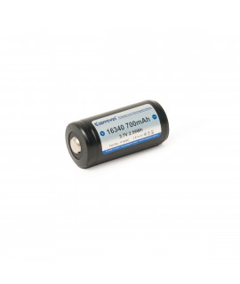 Keeppower 16340 700mAh (protected) - 1.4A