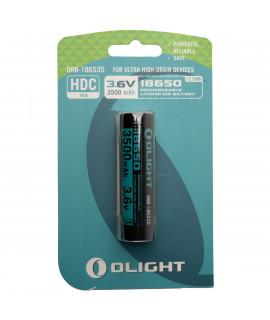 Olight 18650 3500mAh battery for M2R / X7